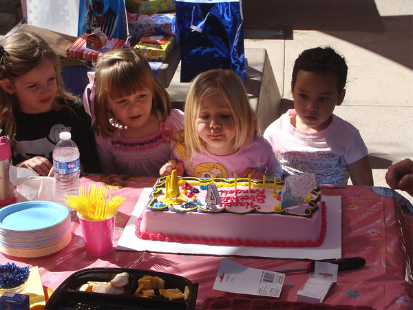 Kendall's 4th Birthday Party, 11-6-11