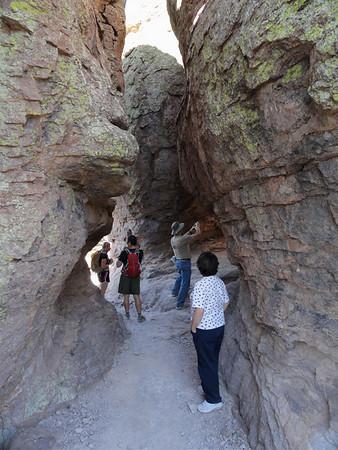 Chiricahua Nat'l Monument Hike, 3-19-11