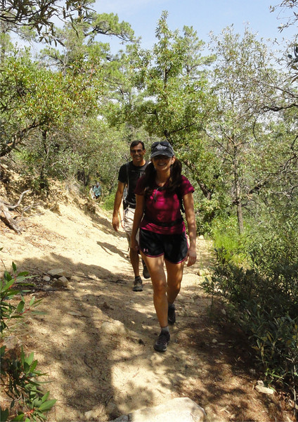 Mt Wrightson, Old Baldy Trail, 8-27-11