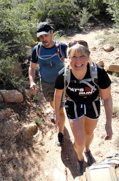 """Granite Mtn """"Exploritory"""" Hike, 8-6-11"""