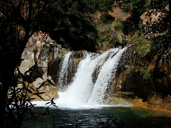 Waterfall Trail, Fossil Springs, 9-18-10